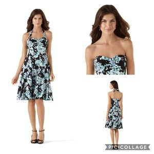 🦋White House Black Market Summer Bouquet Sundress